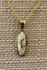 Gold in Quartz With Natural Nuggets Pendant PN719NQX