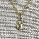 Gold in Quartz Pendant PN824QX