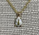 Gold in Quartz Pendant P10*7QX