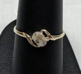 Ladies Gold in Quartz Ring  RL789Q