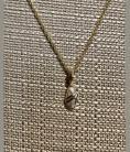 Gold in Quartz With Diamonds Pendant PN1064DQ