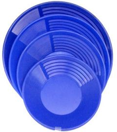 "10.5"" kEENE Blue Gold Pan"