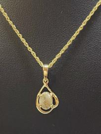 Gold in Quartz Pendant PN870SQX