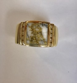 Mens Quartz Ring RM779D24Q