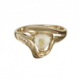 Ladies Quartz Ring RL746D4Q