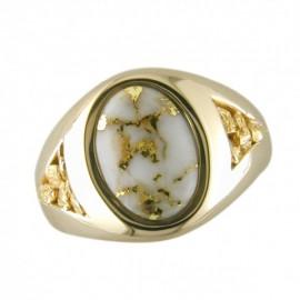 Mens Quartz Ring RM595