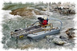 "3"" Mini Keene Dredge 4 Hp. Honda"