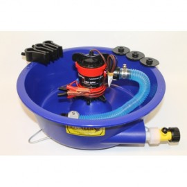 Gold Concentrate Bowl with pump and Leveler Legs