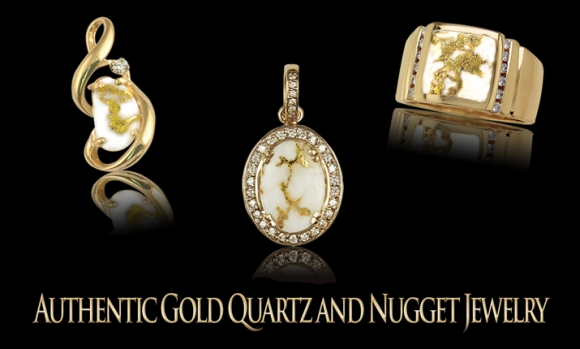 GOLD QUARTZ RINGS (MEN)