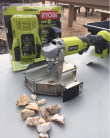 Hand Held Rock Crusher with Battery and Charger