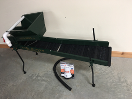 "Hatch backer ""Mini Highbanker w/ hog matting"