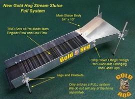 Gold Hog Stream Sluice